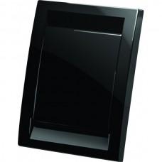Пневморозетка Deco пластиковая (черная)