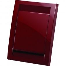 Пневморозетка Deco пластиковая (красная)