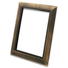 Декоративная рамка Deco металлическая (античная медь)