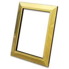 Декоративная рамка Deco металлическая (золото)